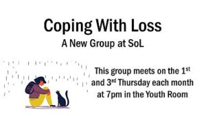 Coping/Loss @ Song of Life UMC Youth Rm